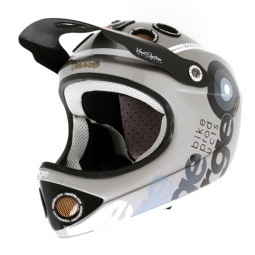 Casco integral Urge DOWN-O-MATIC Plateado