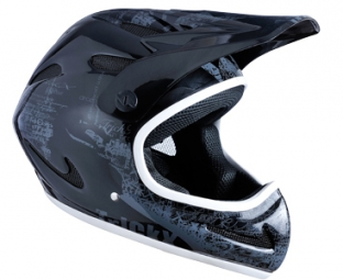 Casco integral Trick X NEW ZEKOU Negro