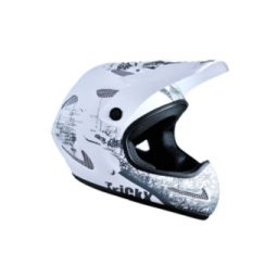 Trickx Ultimate Child Helmet White NEW ZEKOU