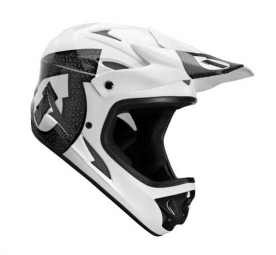 Casque intégral 661 sixsixone COMP SHIFTED Noire Blanche