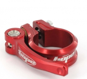 hope collier de selle rapide rouge 34 9