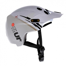 URGE 2013 Helmet ENDUR-O-MATIC FLASH Silver