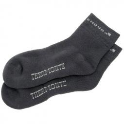 endura pack de 2 paires de chaussettes thermolite noir 43 46 5