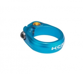 kcnc collier de selle ecrou road pro sc9 bleu 31 8