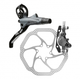 Avid Elixir 7 2014 Frente carbono Brake Disc Gris 180mm HS1 PM / ES