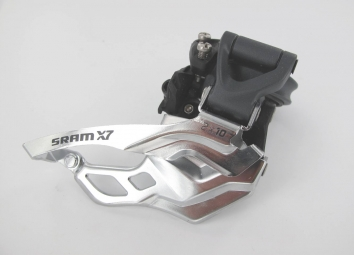 SRAM Dérailleur Avant X7 3x10V Collier Haut 31.8/34.9mm Haut/Bas