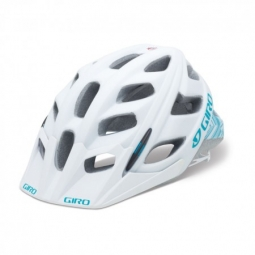 Casco Giro HEX Blanco mate turquesa