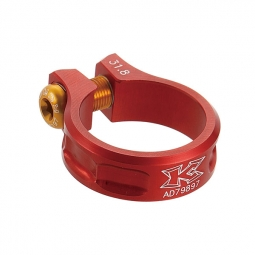 kcnc collier de selle ecrou sc11 rouge 31 8