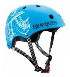 Casque bol Bluegrass BOLD Bleu Cyan