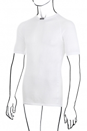 BRYNJE Maillot Manches Courtes Thermo BLANC
