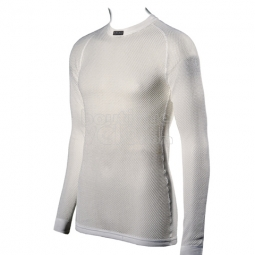 BRYNJE Maillot Manches Longues Thermo BLANC
