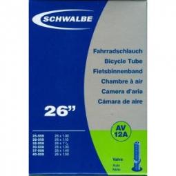 Schwalbe Butyl Inner Tube 26 x 1.00/1.40 Schrader