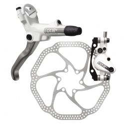 2012 Avid Elixir 5 Disc Brake Front White + 160mm HS1 PM / IS