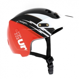 Casco Urge ENDUR-O-MATIC Flash Racing rojo