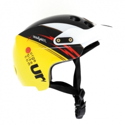 Casque Urge ENDUR-O-MATIC Flash Racing Jaune