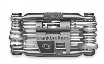 CRANK BROTHERS Multi-Outils 17 fonctions Noir