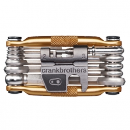 CRANK BROTHERS Multi-Outils 17 fonctions OR