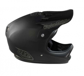 Casco integral Troy Lee Designs D2 MIDNIGHT Material compuesto Negro mate