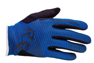 ROYAL Gants CROWN Bleu/Noir