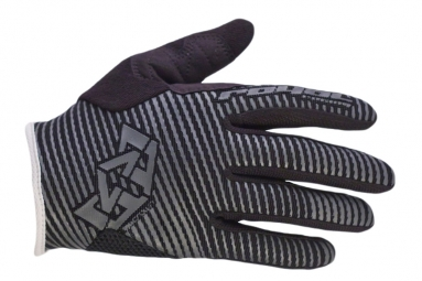ROYAL Gants CROWN Noir/Gris
