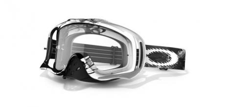 OAKLEY Masque CROWBAR MX  Black White Storm / Clear Ref 57-318