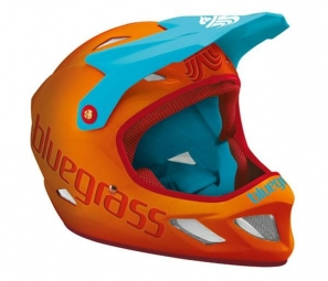 BLUEGRASS 2013 Helmet EXPLICIT Orange Cyan