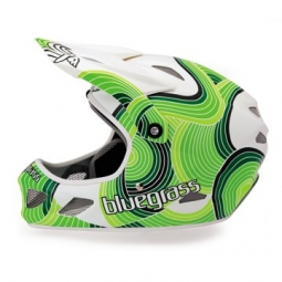 BLUEGRASS 2012 Helmet BRAVE WAVES Green