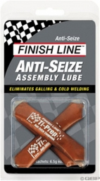 FINISH LINE Graisse au cuivre ANTI SEIZE / 3 Sachets de 6.5 gr