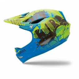 Casco integral Giro REMEDY Amarillo Azul