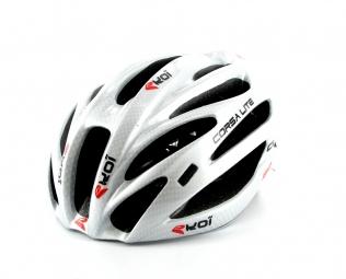 EKOI CORSA LITE RECORD Road Helmet Silver Size 57/60 cm