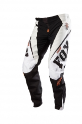 FOX 2012 Pantalon PUSH DH Blanc/Orange