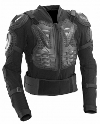 fox veste de protection titan sport black taille s