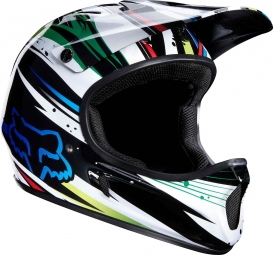 FOX Rampage Helmet White Blue