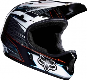 Casco integral Fox RAMPAGE Gris Rojo
