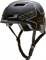 FOX ROCKSTAR TRANSITION 2012 Helmet Black Mat
