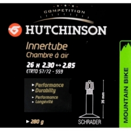 HUTCHINSON Chambre à Air STANDARD 26 x 2.30 à 2.85 Schrader