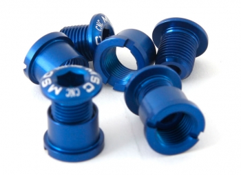 msc kit 4 vis plateaux alu 7075t6 bleu
