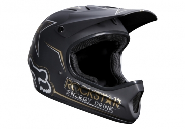 Casco integral Fox RAMPAGE ROCKSTAR Negro mate