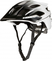 Casco Fox FLUX Negro Blanco