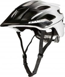 Fox Flux Helmet - Black White