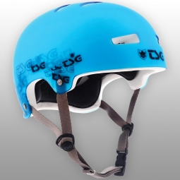 Casco bol Tsg EVOLUTION SPECIAL MAKEUP CLEAR BLUE