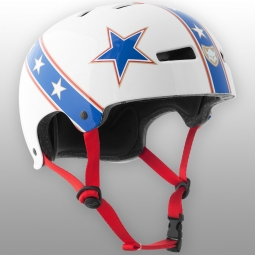 Casco bol tsg GRAPHIC DESIGN STUNT Blanco Azul