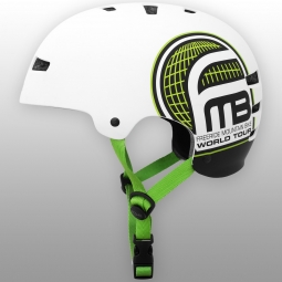 Casco bol Tsg GRAPHIC DESIGN FMB WORLD TOUR Blanco Verde