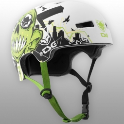 Casque bol Tsg ART DESIGN TANNER GOLDBECK Blanc Vert