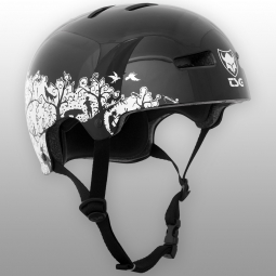 Casque bol Tsg GRAPHIC DESIGN SILHOUETTE Noir