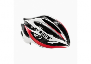 MET STRADIVARIUS UL 2012 Helmet White / Red Size L