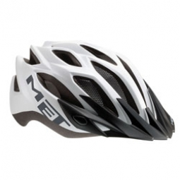 MET 2012 Casque CROSSOVER Silver Taille Unique