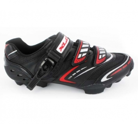Chaussures VTT XLC Evo 1 Noire Rouge