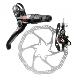 AVID 2012 X0 CARBON Rear Brake Disc Red HS1 200mm IS