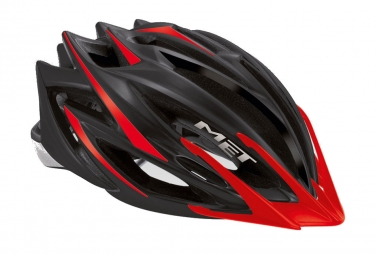 MET 2013 VELENO Helmet Matte Black / Red